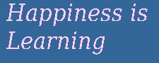 Myicourse happinessislearning College
